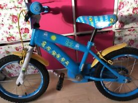 Minion kids bike