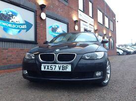 BMW 3 SERIES 2.0 320i SE Convertible 2dr Petrol Automatic (165 g/km, 170 bhp) (black) 2007