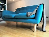 MADE com Dylan Sofa in Mineral Blue