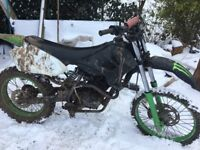 200cc scrambler for swaps too big for my wee brothers.