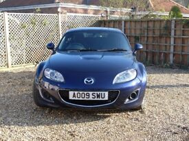 2009 Mazda MX-5 1.8i SE Hard Top convertible. Low mileage and great condition.
