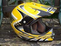 KBC TK-X Torque crash helmet size L ( motocross )