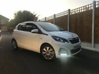 Peugeot 108 Active Convertible Automatic 2015