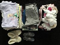 Bundle of preloved 4-5 year girls clothing