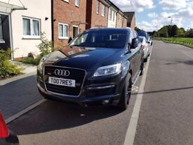 "Audi Q7 3.0 tdi S line Huge Spec/Panoramic Sunroof/ Dvds/Tv/Parking sensors/22""s/Bluetooth £11500ono"