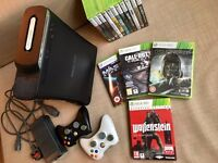 GREAT DEAL! Xbox 360 + 2 controllers + 16 games