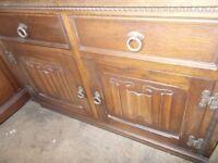 A ornate JayCee sideboard