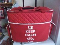 Sewing machine wheeled trolly case