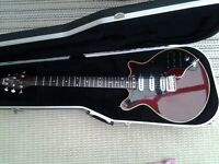 guitar - Burns Brian May Signature Red Special with Burns Hard Case