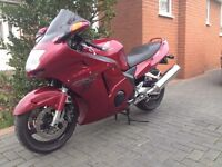 Honda CBR 1100 Blackbird XX 1997 RED Totally Standard Bike