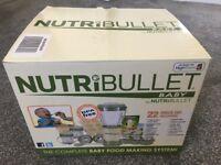 NutriBullet Baby Food Processor – Brand New