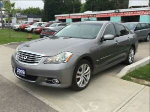 2009 Infiniti M35 LUXURY LEATHER ROOF
