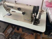 Brother DB2-B755-3 Industrial Sewing Machine - it is in good working order.