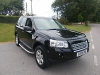2008 08 LANDROVER FREELANDER 2.2 TD4 GS 4X4 AUTOMATIC IN METALLIC BLACK CALL 07791629657