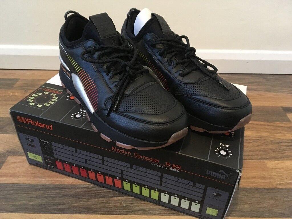 1571d68384a6db Puma x Roland RS-0 NIB Mens Sneaker   Trainer Black UK Size 10 TR808
