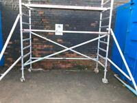 Boss 6.2 m working height alloy Scaffold tower