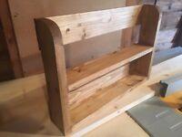Handmade Wooden Spice Rack