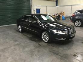 2013 vw Passat cc Gt 2.0tdi 177bhp Dsg 1 owner pristine red leather guaranteed cheapest in country