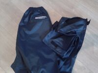 SPADA 911 WATER PROOF TROUSERS AND WATERPROOF OVER JACKET