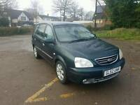 Kia Carens 2.0 diesel automatic with new MOT service history low miles in good running order