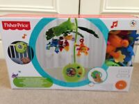 Fisher Price musical rainforest cot mobile