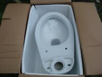job lot of 14 toilet all new on box ready to go only toilet no kit