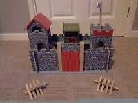 Wooden knights castle