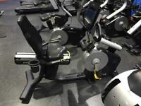 Pulse commercial recumbent gym bike