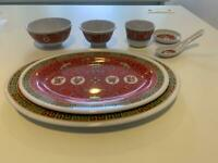 Pending!! Brand New Plastic Chinese Dining Set