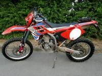Gas Gas ec 400 fse, converted to 450 2002 Enduro Road bike