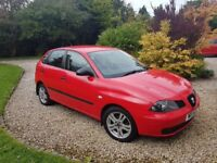 2003 Seat Ibiza 1.2l, 5 Door Hatchback, Red