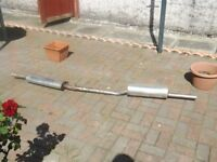 MGB STAINLESS EXHAUST