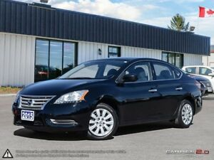 2015 Nissan Sentra S,ECO+SPORT MODE,B.TOOTH,USB,ACCIDENT FREE
