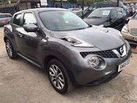 Nissan Juke 1.5 dCi Tekna 5dr (start/stop)£12,950 p/x welcome FREE WARRANTY, HPI CLEAR