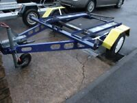motorbike trailer will carry 2 bikes
