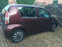 Diahatsu Sirion 2009 low mileage in need of dent repair work
