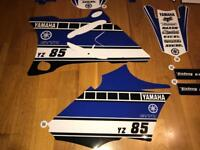 Yamaha YZ 85 2002 - 2014 Graphics 60th anniversary look-a-like Factory