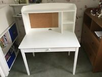 White writing desk by Great Little Trading Company
