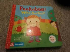 Peekaboo Who Are You Felty Flap Book
