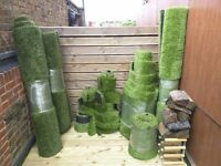 Premium Quality High Pile and Density Artificial Grass Available in Large/Small Sizes and Offcuts