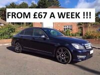 2012 MERCEDES C220 AMG SPORT + CDI BLUE ** AGNEW MERCEDES SERVICE HISTORY *** FINANCE AVAILABLE ***
