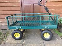 Heavy duty garden/festival trolley