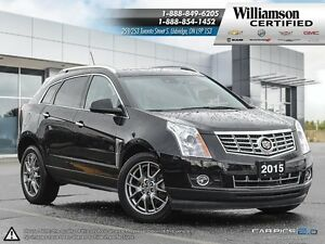 2015 Cadillac SRX PREMIUM**SUNROOF**NAV**AWD**BCK UP CAM