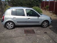 RENAULT CLIO EXPRESSION 2003 53 PLATE 1.4 16V AUTOMATIC,FSH, ONE OWNER, VERY LOW MILES