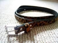 Skinny belt, medium size