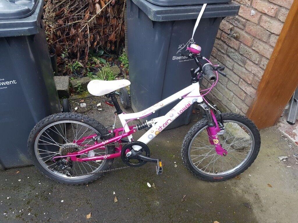 "Girls apollo 20"" bike"