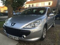 Peugeot 307, 1.6 petrol, 10 months MOT, full service history, lady owned for the past 3 years.
