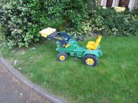 John Deere Ride-on Tractor with Loader