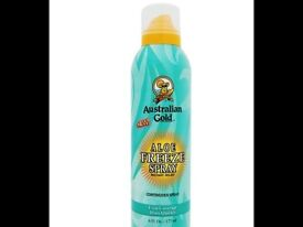 Australian Gold Aloe Freeze Spray Instant Relief Continuous Spray - 177ml - Brand New/Sealed