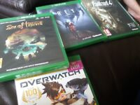 4 New xbox one games